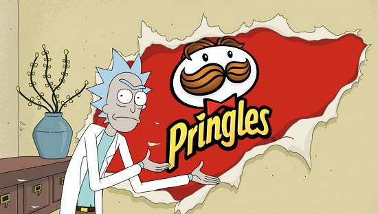 Pringles Rick and Morty Commercial