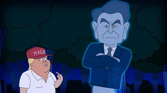 Reagan vs. Trump Debate