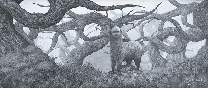 Sous la peau, l'écorce (Under the skin, the bark)